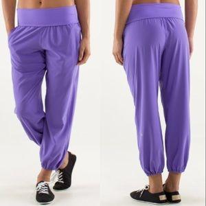 Lululemon Om Pant in Power Purple